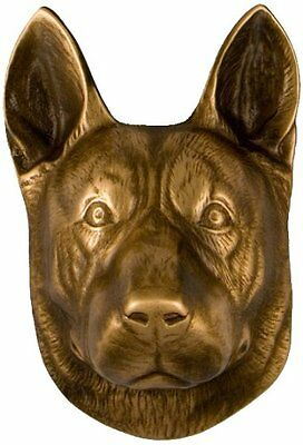 Dog Knocker German Shepherd Bronze
