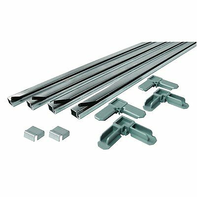 Prime-Line Products PL 7805 Screen Frame Kit, 5/16 in. x 3/4 in. x 60 in., Mill