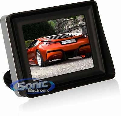 """Audiovox ACAM350 ACAM350 3.5"""" LCD Color Display for Connection to Backup Camera"""