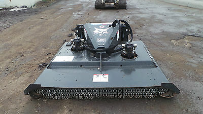 "Bobcat Brushcat Brushhog Attachment For Skid Steer Loader 72"" 6 Ft Regular Flow"