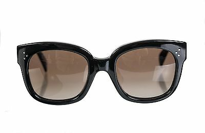 8c5b45a6e9a CELINE SUNGLASSES 41805 S New Audrey 807 HA Black Brown Gradient ...