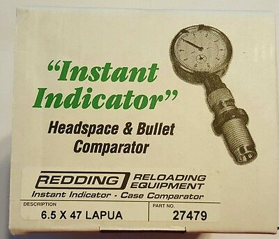 27479 Redding Instant Indicator With Dial - 6.5 X 47 Lapua - New Range Adapter