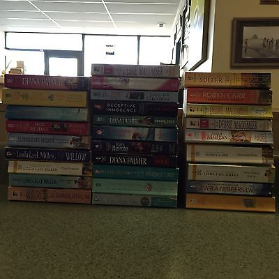 Box 350: Lot of 49 Romances by Palmer Miller Michaels Wiggs Carr Woods Macomber