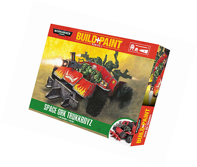 Revell GmbH Warhammer 40,000 Space Ork Trukkboyz Build and Paint Set