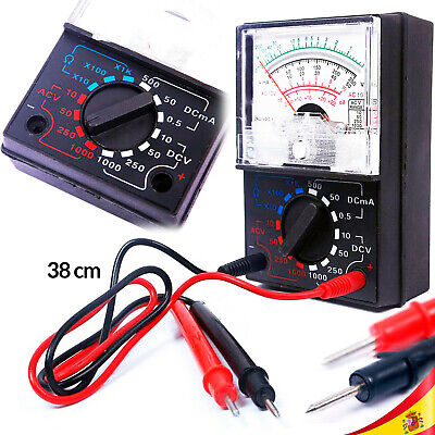Multimetro Analogico Tester Amperimetro Voltimetro Multimeter Analogue Yx 1000A
