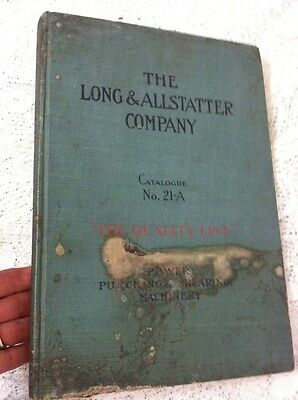 Antique Long & Allstatter Power Punching & Shearing Machinery Catalog