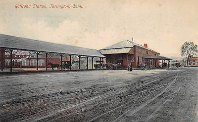 TORRINGTON, CT ~ RAILROAD STATION ~ A. SCHMELZER CO., PUB #14 ~ c.1910s