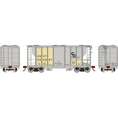 Athearn ATH14563 HO Scale PS-2 2600 Covered Hopper CSX #225907 Rolling Stock