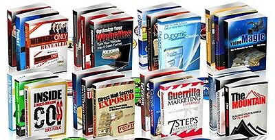 Lot's of e-books with Full Resell Rights! - Resale e-Books!