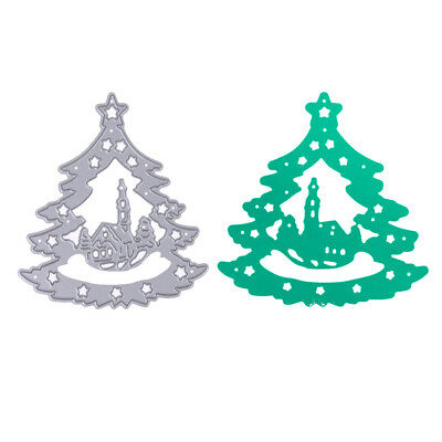 Christmas Tree Cutting Dies Stencil DIY Scrapbooking Paper Ablum Card Craft Gift