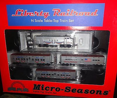 N scale Micro-Trains - Liberty Railroad Train Set   -   99321030