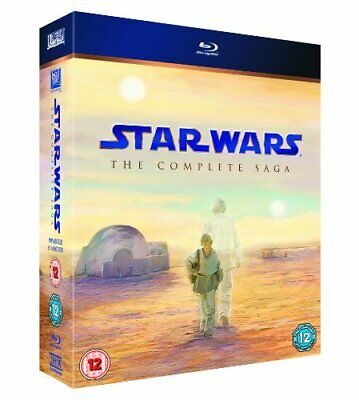 Star Wars: The Complete Saga [Blu-ray] [2011] [Region Free] - DVD  OSVG The