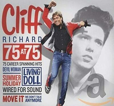 Cliff Richard - 75 At 75 - Cliff Richard CD PYVG The Cheap Fast Free Post The