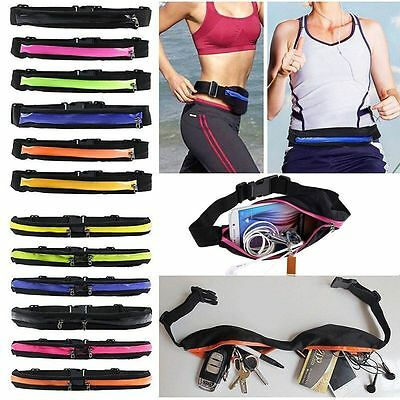 Sports Fashion Waist Bum Pack Bag Fitness Running Jogging Cycling Belt Pouch