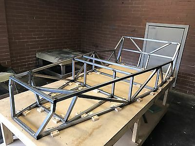 Locost 7 Chassis Lotus 7 Replica Haynes Roadster clubman Kit Car With Book