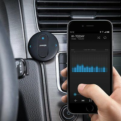 Anker SoundSync Drive Bluetooth car handsfree receiver for cars AUX input 3.5mm