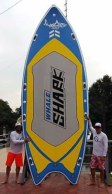 "Shark SUPs 18'*80"" iSUP XL stand up paddle board w/accessories"