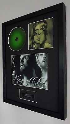 Kings Of Leon-Only By The Night-Original CD-Plaque-Certificate-Luxury Framed