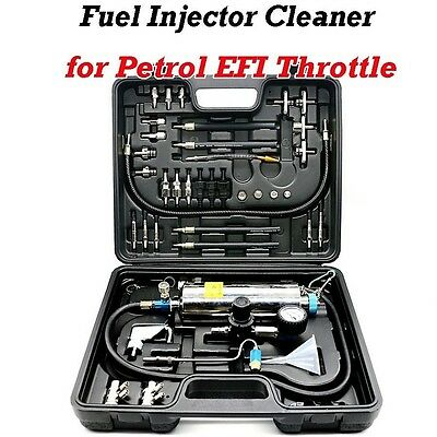 AUTOOL C100 Injector Cleaner Auto Non-Dismantle Fuel for Petrol EFI Throttle