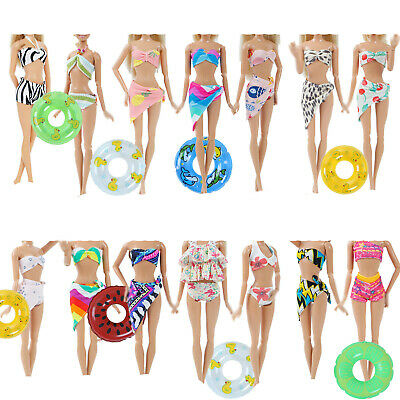 Swimsuit Bikini Swimwear Beach Sunmmer Outfit Clothes For Barbie Doll Hot Toy