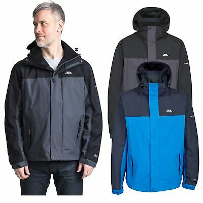 Trespass Phelps Mens Lightweight Waterproof Jacket Rain Coat with Hood