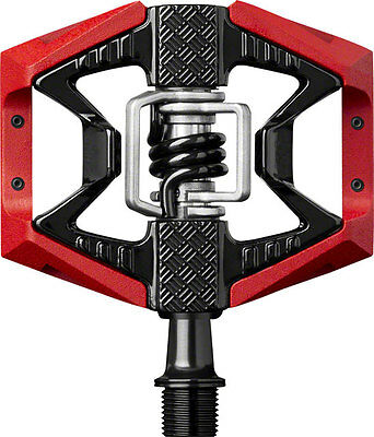 NEW Crank Brothers Doubleshot 3 Pedals: Red/Black