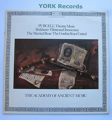 DSLO 504 - PURCELL - Theatre Music THE ACADEMY OF ANCIENT MUSIC - Ex LP Record
