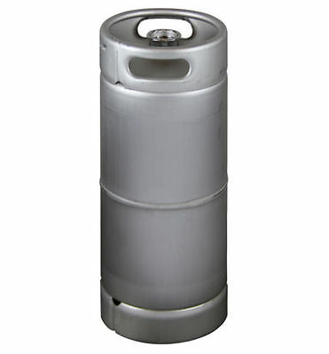 New East Coast 5 Gallon Commercial Draft Beer Keg- Drop In D System Sankey Valve
