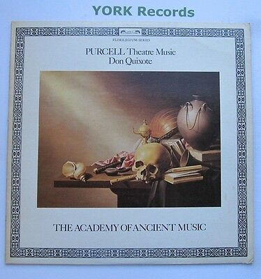 DSLO 534 - PURCELL - Theatre Music Vol 3 ACADEMY OF ANCIENT MUSIC - Ex LP Record