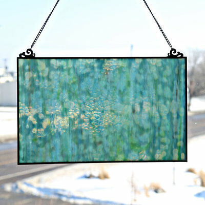 River of Goods Single Pane Stained Glass Window Panel