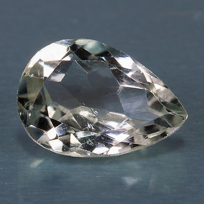 5.37 ct Prasiolite Green Amethyst Pear cut 14.31x10.11mm Si2 Natural loose gem