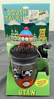 """RARE Comedy Central South Park Talking Mug STAN """"Oh My God! They Killed Kenny!"""""""