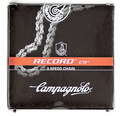 Campagnolo 2016 Record C9 Ultra Drive Chain for 7, 8, 9 speed New in Box 9s