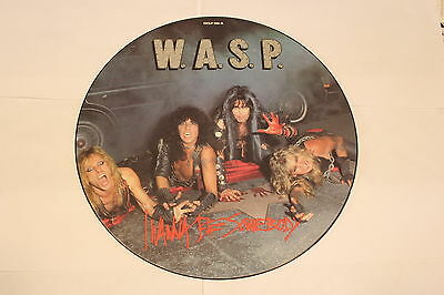W.A.S.P. – I Wanna Be Somebody ..... VINYL PICTURE DISC