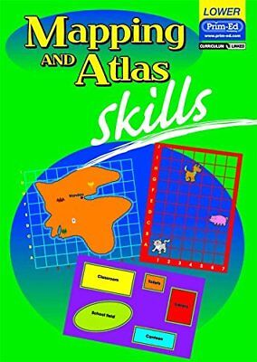 Mapping and Atlas Skills: Lower Primary, R.I.C.Publications Paperback Book The