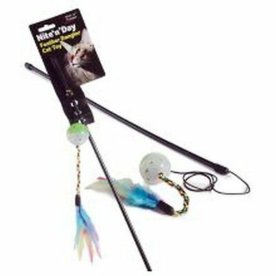 Ruff 'N' Tumble Nite 'N' Day Feather Dangler sgl C23020