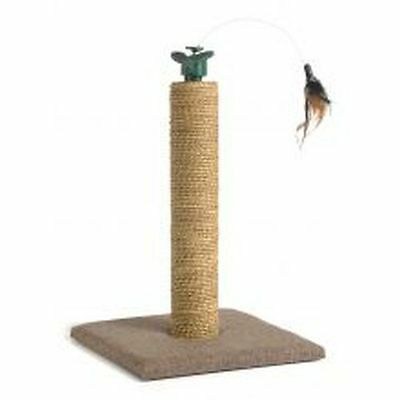 Rotat 'N' Feather Cat Scratching Post 30x30x45cm C29855