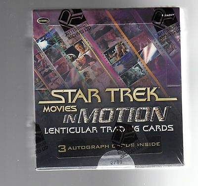 Star Trek Movies in Motion sealed Box