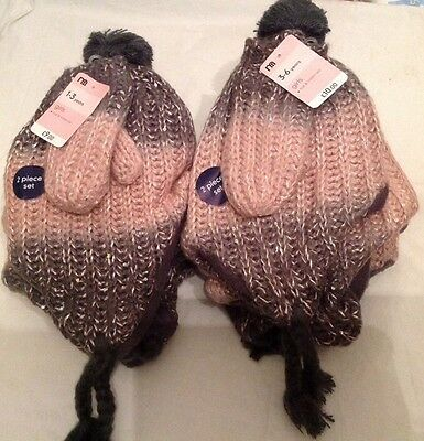Joblot Mothercare Hat & Mits Sets Bnwt Rrp £76 Lots Of Profit To Be Made