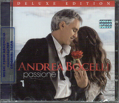 Andrea Bocelli Passione Deluxe Edition Sealed Cd New 2013