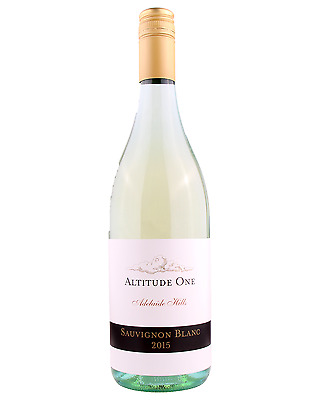Altitude One Adelaide Hills Sauvignon Blanc 2015 case of 12 Dry White Wine 750mL