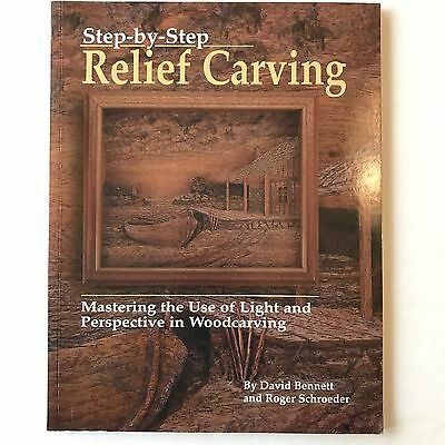 Step by Step Relief Carving Mastering The Use Light & Perspective Woodcarving
