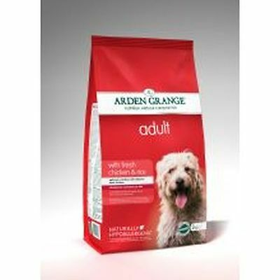 Arden Grange Dog Adult Chicken & Rice 12kg ACR6320