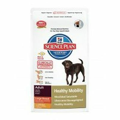 Hills Science Plan Canine Adult Healthy Mobility Large Breed with Chicken 12kg 8