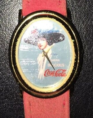 Vintage Coca Cola Hand Painted watch-Extremely Rare