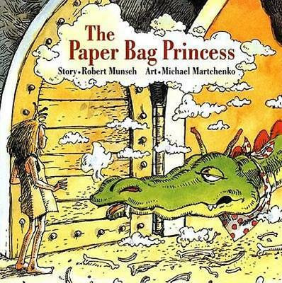 NEW The Paper Bag Princess By Robert Munsch Board Book Free Shipping