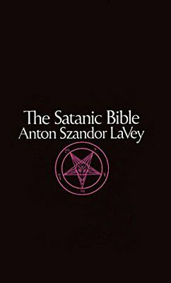 Satanic Bible by Anton LaVey Paperback Book The Cheap Fast Free Post