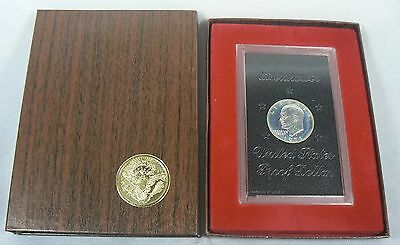1971-S 40% Silver Eisenhower $1 Proof Coin Mint Packed (Brown Box Ike)