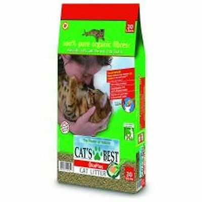 Cats Best Okoplus Clump Litter 30ltr JRS203