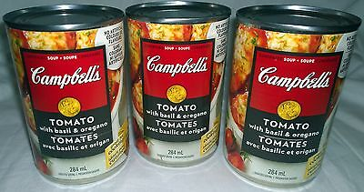 Campbells Tomato With Basil & Oregano Condensed Soup (3) Cans Canada / Canadian